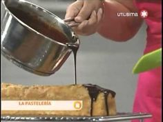 Ganache de Chocolate para Cobertura - YouTube Chocolate Nestle, Salsa Dulce, Cake Tutorial, Wok, Frosting, Fondant, Anna Olson, Desserts, Chocolates