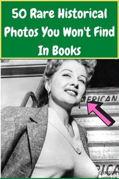 50 Rare Historical Photos You Won't Find In Books Famous Photos, Rare Photos, History Photos, History Books, Clothes Shops Uk, Gym Workout Tips, Workout Challenge, Poetry Lines, Smart Casual Menswear