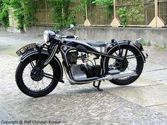BMW R2 Motorrad - Bauzeit aller Serien: 1931-1936 - fotografiert