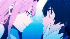 Anime gifs and art. Querida No Franxx, Zero Wallpaper, Haruhi Suzumiya, Anime Gifts, Waifu Material, Zero Two, Darling In The Franxx, Cute Anime Character, Cute Anime Couples