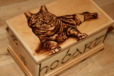 """Celtic Pyrography Patterns for On a Box   What is Pyrography? """" the art or technique of decorating wood or ..."""