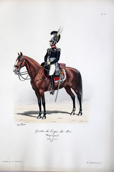 Gardes du Corps du Roi – Major Général 1815- Histoire de la Maison Militaires du Roi 1814/1830 – Eugène Titeux | Soldaademohler