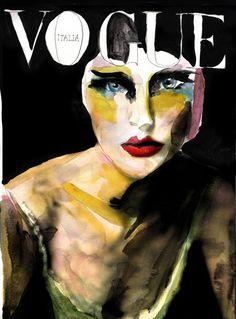 Title. 8 Vogue  Victoria Verbaan