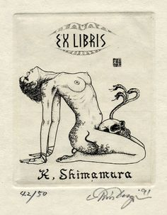 Exlibris K. Shimamura