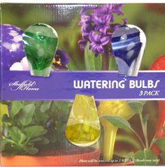 These are great for those hard to reach places 3 Pack Mini Watering Globes Watering Bulbs, Lawn And Garden, Home And Garden, Effective Teaching, Way To Make Money, How To Make, Water Lighting, Indoor Plants, Potted Plants