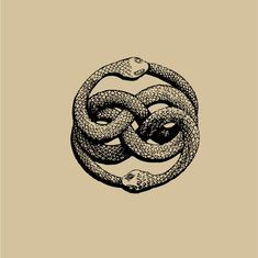 "Dessin Ouroboros tatouage - The AURYN sign, as imagined by Michael Ende in his book ""The Neverending Story"" Oroboros Tattoo, Ouroboros, Story Tattoo, Auryn, The Neverending Story, Geniale Tattoos, Illustration Art, Illustrations, Occult Art"