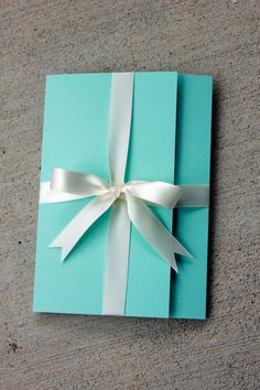 Tiffany Blue Wedding Invitation Tiffany Blue with by SweetSights