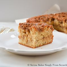 The perfect cake for brunch or dessert. The Cinnamon Brown Sugar Crumb is swirledthroughout the cake allowing a taste in every bite.     ...