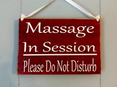 Gentil 8x6 Massage In Session Please Do Not Disturb Custom Wood Sign Spa Salon In  Progress Office Welcome Plaque Door Hanger