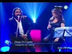 "Diego ""El Cigala"" y Sole, sin ensayo... 29/09/2012 - YouTube"