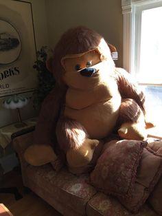 Huge Big Giant Ape Monkey Gorilla plush Toy Stuffed Animal Jumbo #toyfactory