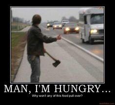 haha i love creepy hitchhikers.