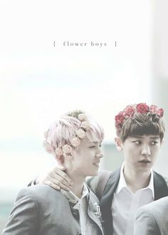 Exo wallpaper: Chanyeol and Sehun cr: whoever created this