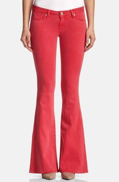 Hudson Jeans 'Mia' Flared Jeans (Soft Parade) | Nordstrom