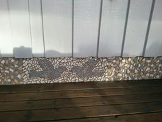 My mosaicprojects on the balcony
