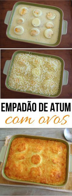If you like tuna and easy and tasty oven recipes you must try this delicious tuna rice recipe with egg! If you going to invite friends this recipe is ideal to receive them! Beer Recipes, Veggie Recipes, Fish Recipes, Tuna Rice, Tuna Dishes, Brazillian Food, Tuna And Egg, Portuguese Recipes, Food Goals