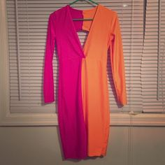 Bodycon long dress Long tight fitted dress worn twice in good condition Dresses Long Sleeve