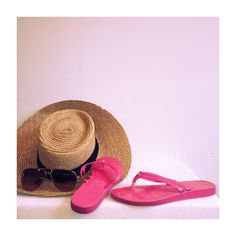Coach Juney Patent Sandal flip flop Bright pink flip flops. Great used condition. Little signs of wear. Size 6-6.5. The actual marker of the size rubbed off but you can measure your foot size. Coach color is hibiscus. Coach Shoes Sandals