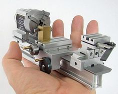 A mini working model of a Taig lathe!