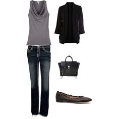 My moms style, created by adreanna-migneault on Polyvore