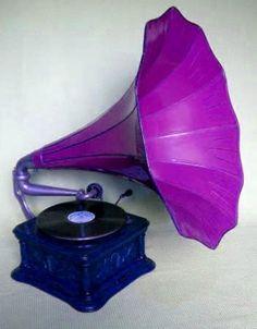 Purple Gramophone