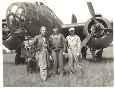 B-26 and some of the crew members.