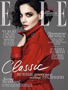 Katie Holmes, Elle Magazine [Russia] (September 2011)