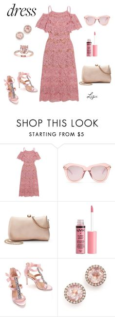 """""""Isn't She Lovely"""" by coolmommy44 ❤ liked on Polyvore featuring Elie Saab, Karen Walker, LC Lauren Conrad, Charlotte Russe, Badgley Mischka, Dana Rebecca Designs, polyvoreeditorial, polyvorecontest and offshoulderdress"""