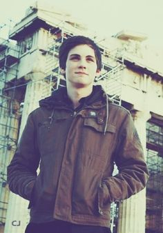 Logan Lerman.  I feel so darn old... But he is just so darn cute!!