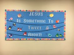 Bulletin board I did for our adult Sunday School class.