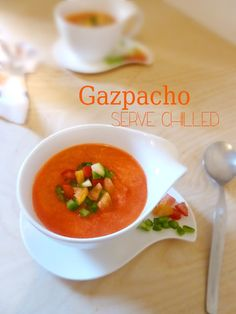#Gazpacho from Spain!