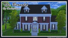 Harley Quinn Nuthouse: The Bernold house • Sims 4 Downloads