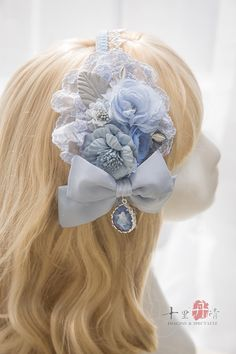 Imagine & Spectacle -Fairies in the Forest- Lolita Accessories Harajuku Fashion, Kawaii Fashion, Lolita Fashion, Cute Fashion, Girl Fashion, Lolita Hair, Lolita Dress, Kawaii Wigs, Indian Wedding Gowns