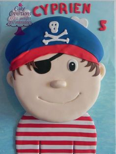 cake pirate Cake by Cakecreation