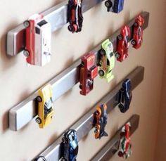 Einfache Aufbewahrung von matchbox Autos