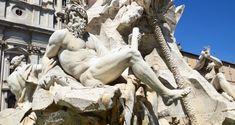 La Fontaine des Quatre Fleuves | Italie-decouverte