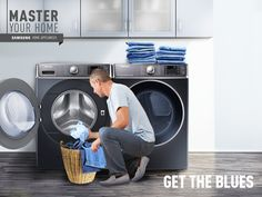 Wash all your jeans in 1/3 the time, so you'll have pairs to spare at all times. #MasterYourHome