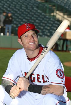 Josh Hamilton - I'm going to miss watching this guy play for the Rangers :(