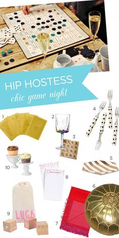 Host the perfect game night with these 10 ideas! | theglitterguide.com