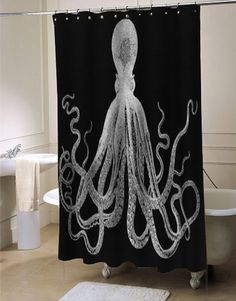 big giant octopus shower curtain fresh bathroom idea for your bathroom interior beauty Customized a special curtains big giant octopus custom shower curtain