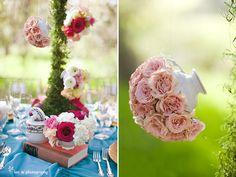 Alice in Wonderland Floating Flower Teapots