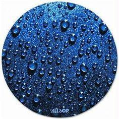 Allsop Slimline Raindrop Blue Round