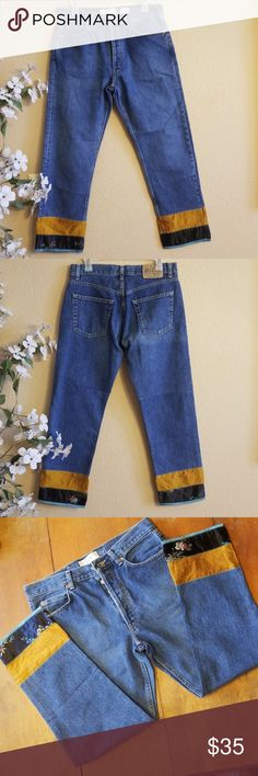cd5276582c Gap Boy Fit Silk Hem Ankle Jean s Size 8 Rare! Gorgeous Boy Fit