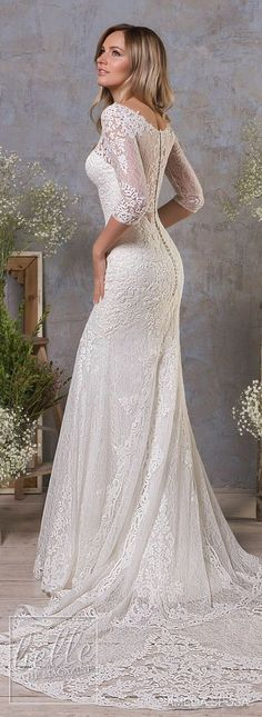 Amelia-Sposa-Fall-2018-Wedding-Dresses-Annabella_back.jpg 615×1,683 pixels #weddingdress #weddingideas