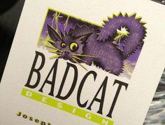Original BadCat Design logo (Based on the image created for Adobe's Photoshop) http://www.badcat.com
