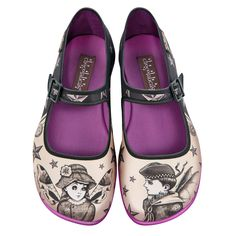 "#Chocolaticas ""NOVA & ORION"" #flats #MaryJanes #Shoes #stars #nova #orion #HotChocolateDesign"