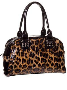 """Women's+""""Leopard""""+Handbag+by+Banned+Apparel+(Leopard)"""