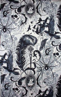 Alexander Henry Fabric After Dark