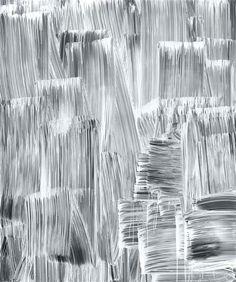 Monochromatic Mark Making - surface pattern design inspiration // Greg Fedell