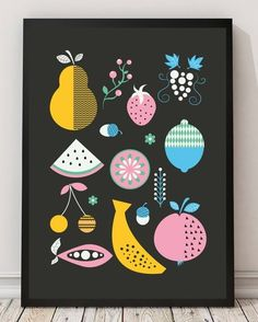 So Fruity by Mleko — On The Wall | Apartment Therapy